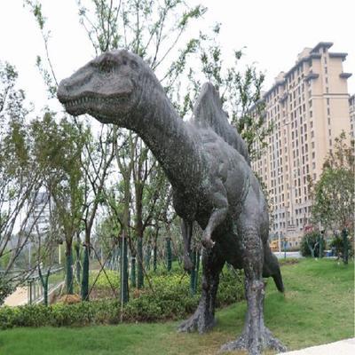 Changzhou Dinosaur Park Shantai GRP statue