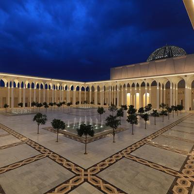 Algerian Mosque GFRC-2017-2018-Glass Reinforced Concrete