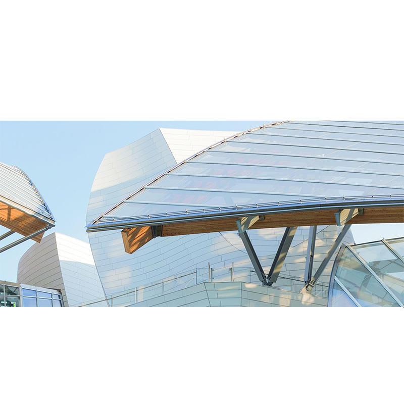 UHPC Concrete Application-Louis Vuitton Foundation Art Center, Paris, France, 2014
