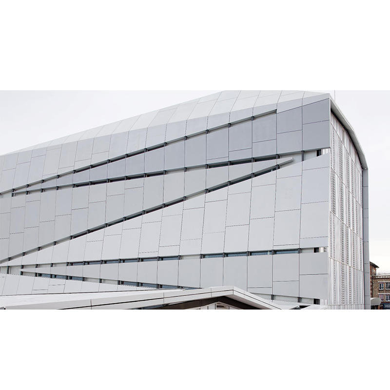UHPC Panels Curtain Wall System Project - Paris Cachan campus, France