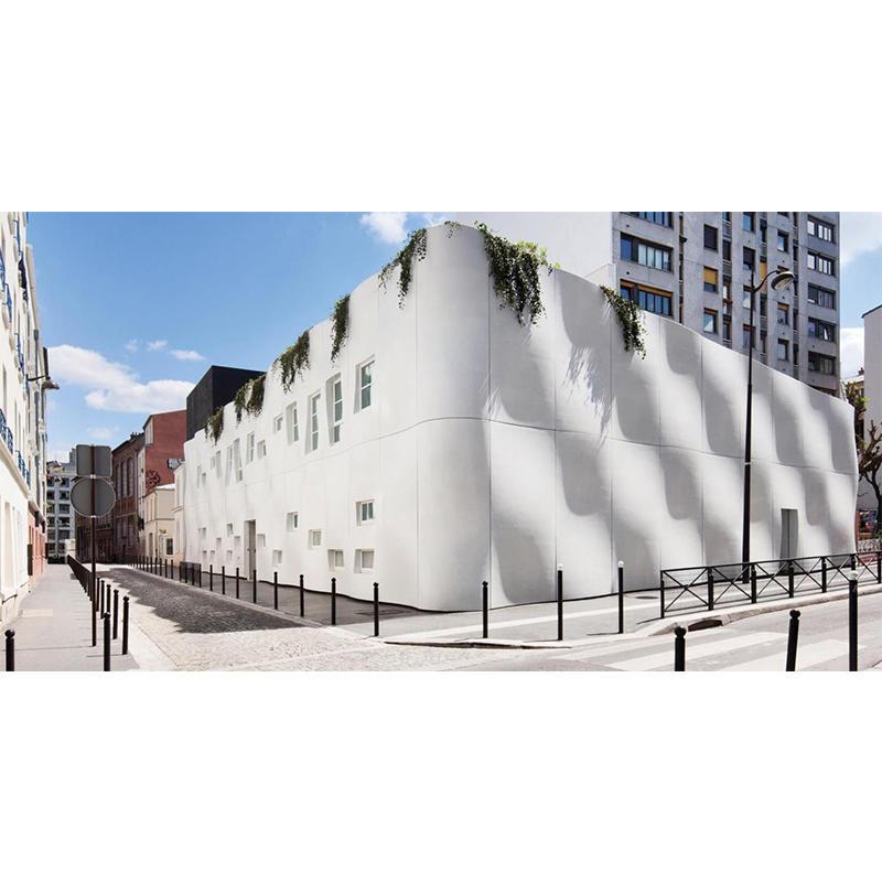 Prefabricated UHPC Panels Project-Pierre Budin Nursery, Paris, France