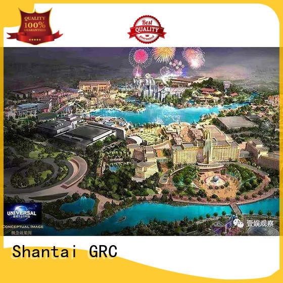Shantai golf grc products design for theater