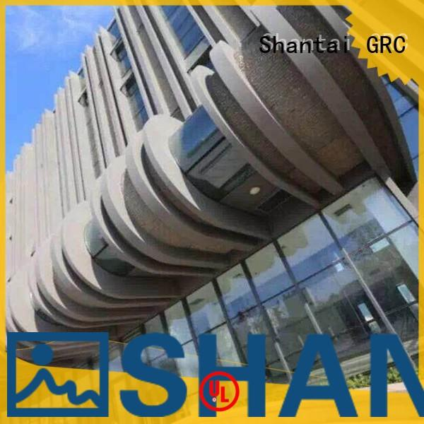 Shantai widely used grc construction design for hotel