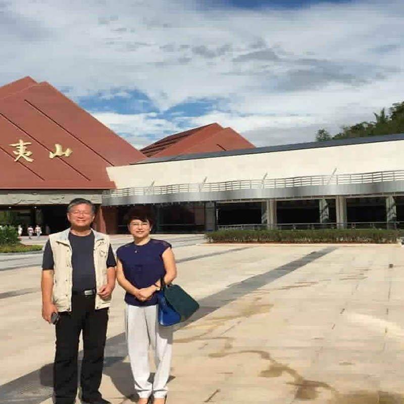 Wuyi Shandong Gate Tourist Center GFRC Entrance