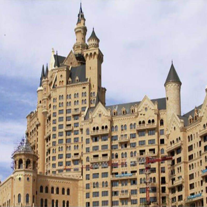 GRC Dalian Group Castle Hotel Project