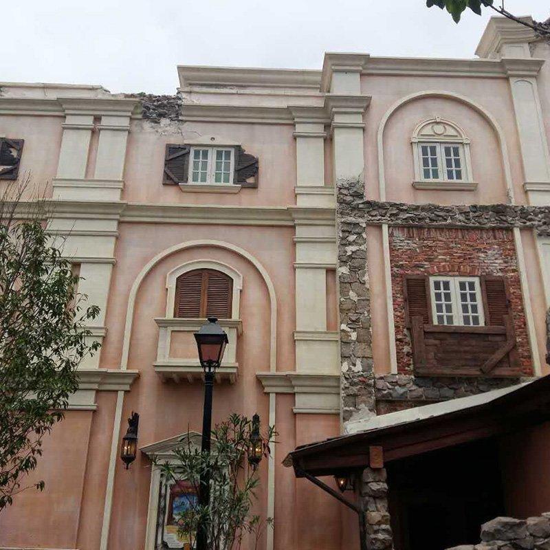 Shanghai Dix GFRC-2016 GRC Project Of Shanghai Disneyland