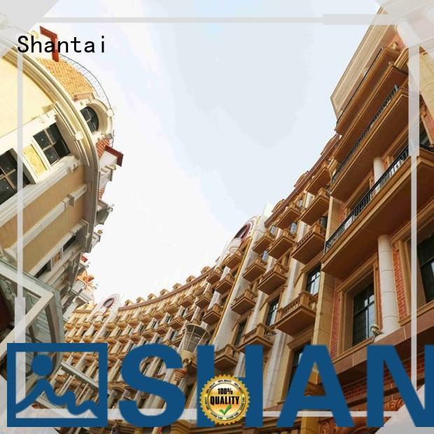Shantai grc grc cladding panels customization for building