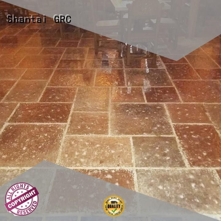Shantai sturdy construction concrete floor stain colors 27 years' experience for sale