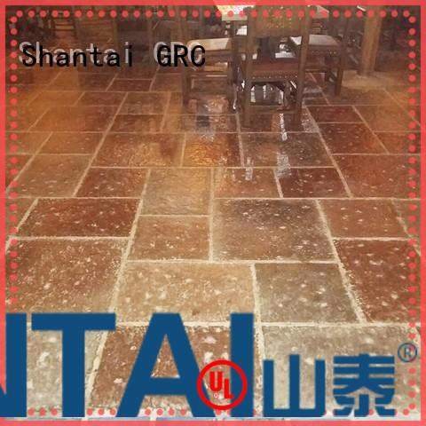 Shantai OEM ODM stained concrete floors producer for house