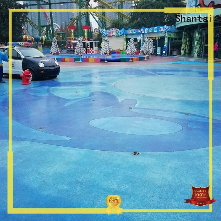 Shantai sturdy construction stained concrete floors 27 years' experience for various occasions