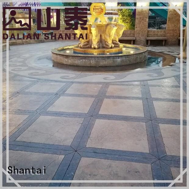 Shantai strong R&D team concrete floor paint colors producer for sale